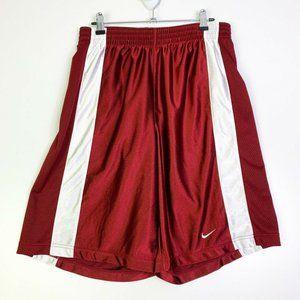 Nike Mens White Elastic Waist Activewear Shorts M